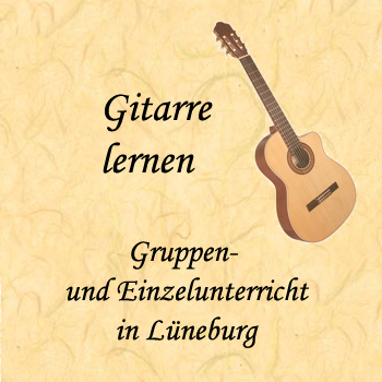 Gitarrenunterricht in Lueneburg bei Jan Kjenjo Zickert